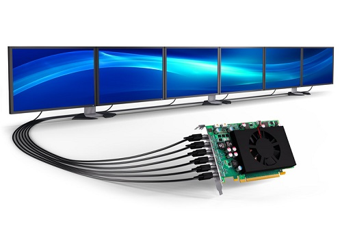 Matrox C680 six-output graphics cards deliver the best display density and performance for demanding multi-monitor applications.